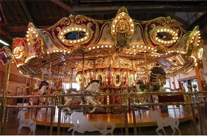 The Pier 57 Carousel
